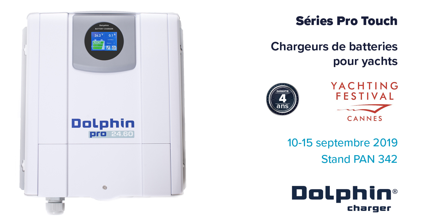 PRO TOUCH marine battery chargers