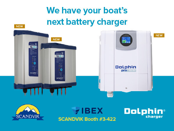 Dolphin Charger introduces 11 new battery chargers